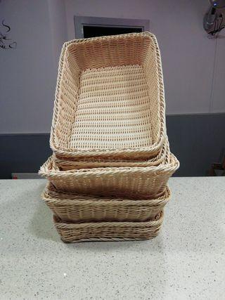 cestas de panaderia.