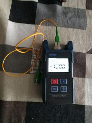 Optical power meter Tm-103n. MEDIDOR DE POTENCIA