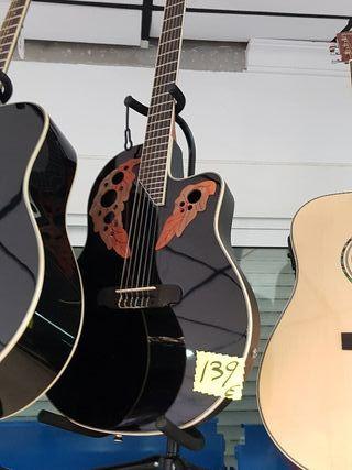 guitarra electroacústica moderna