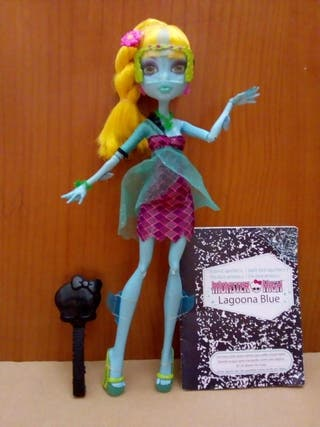 Monster high Lagoona blue 13 wishes