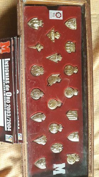 pins equipos futbol 2003-2004