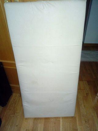 colchón cuna espuma