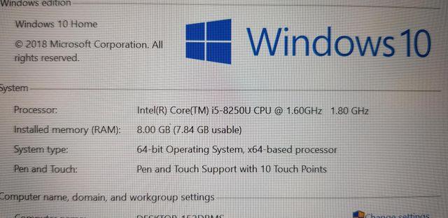 Touchscreen Portátil Inglés HP Spectre X360