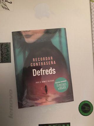 Libro defreds recordar contraseñas