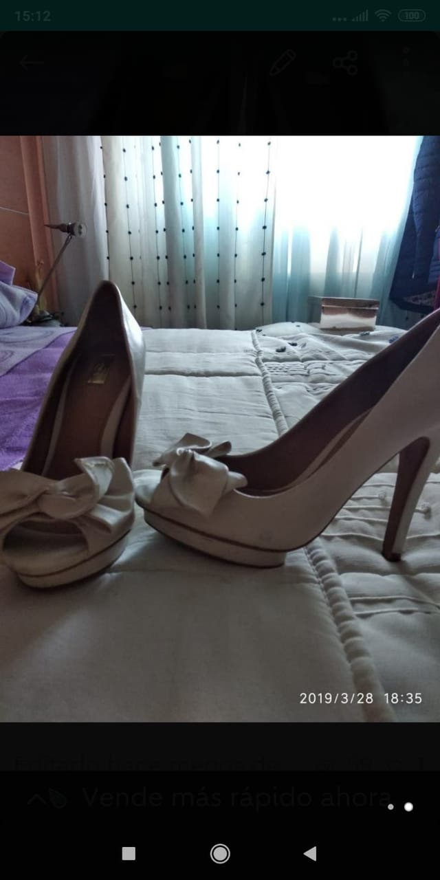 Zapato piel Stradivarius