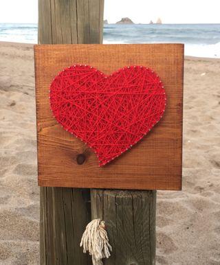 Cuadro corazón 20x20