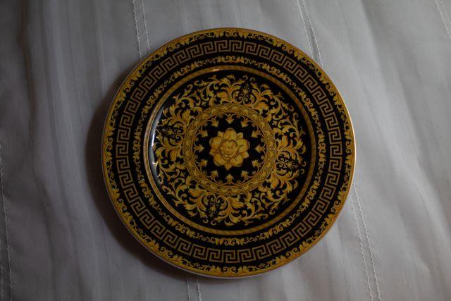 platos de decoración