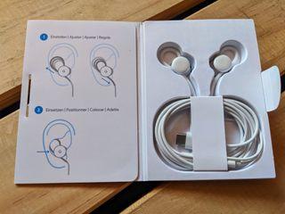 Auriculares Google pixel USB-C originales
