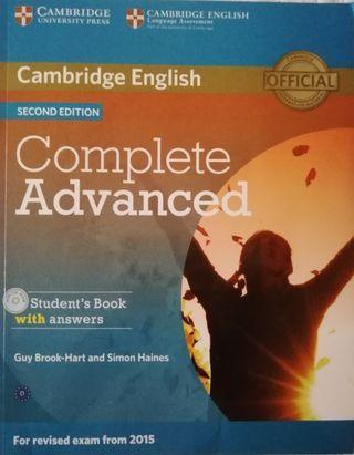 Cambridge English Advanced libros C1