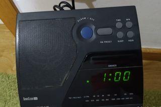 Philips radio despertador .