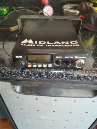 Emisora Midland alan 78 plus