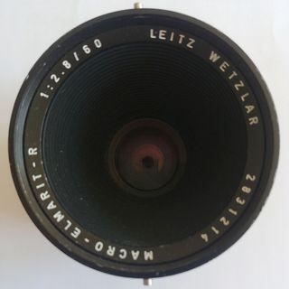 Objetivo Leitz Wetzlar MACRO ELMARIT R 1:2.8 / 60
