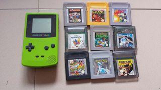 Gameboy 9 juegos