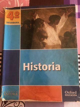 Libro historia 4 secundaria