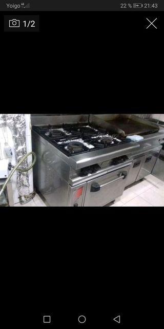 Cocina a gas ciudad macfrin