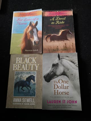 Horse Story Books (4)