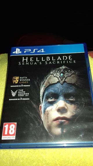 Juego ps4 Hellblade Senua´s Sacrifice