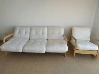 sofá y butaca.