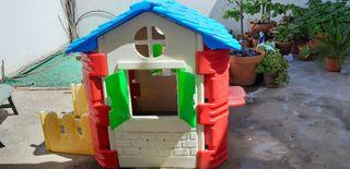 casa para jardín