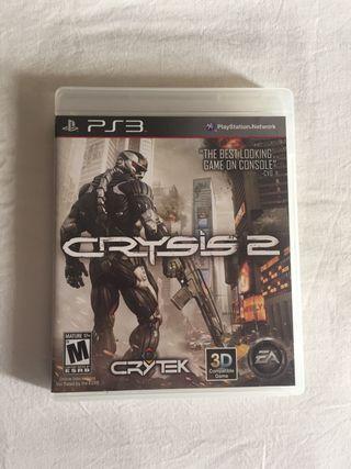 Videojuego PS3 Crisis