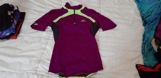5 camisetas running deporte nike, adidas, decathlo