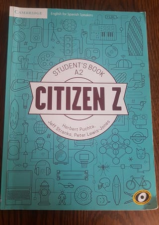 Libro Inglés Citizen Z (nivel A2)