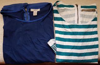 Lote 2 camisetas chica manga larga