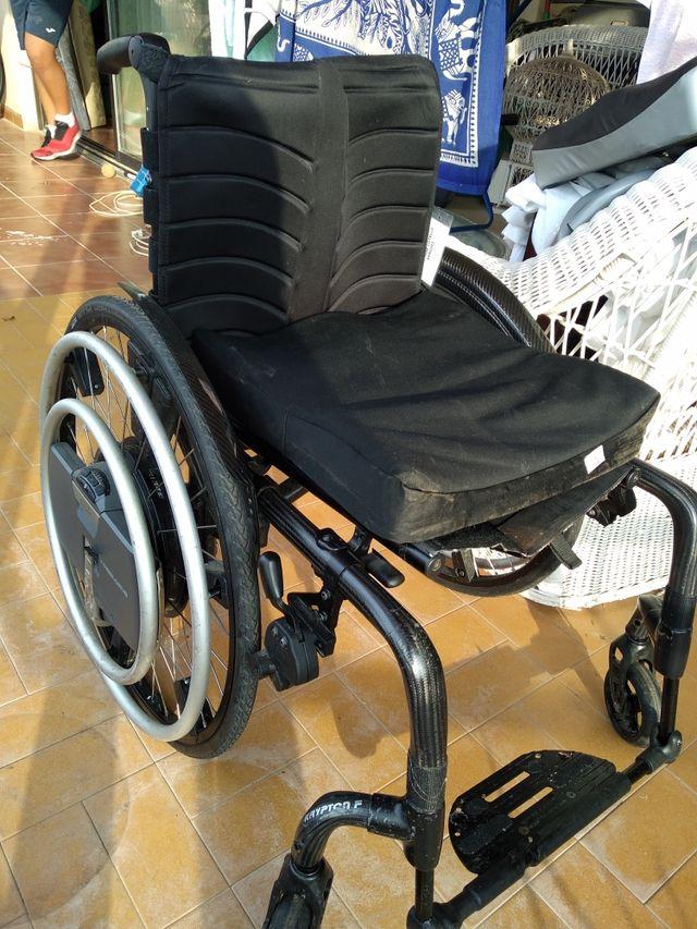 sillas de ruedas eléctrica wheeldrive