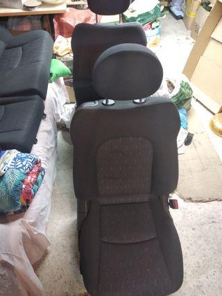 asientos mercedes c sport cupé