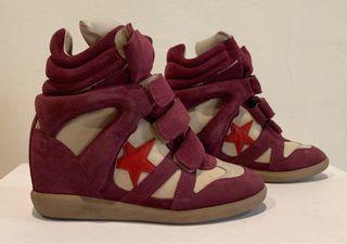 Sneakers Isabel Marant originales, talla 37 Eur.