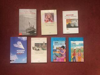 Libros escolares de lectura en euskera