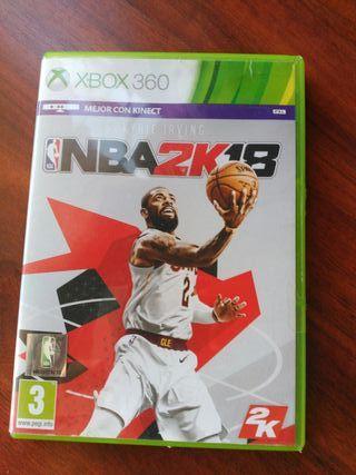 Juego NBA 2K 18 para Xbox 360