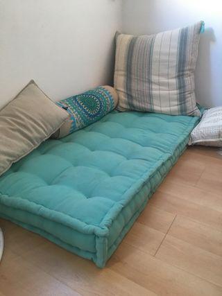 Cojín para palets, terraza o sofá