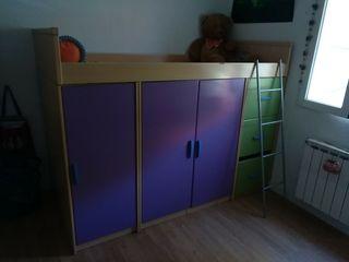dormitorio infantil, Aluche