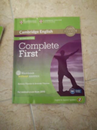 libro ingles complete first isbn 9788483238127