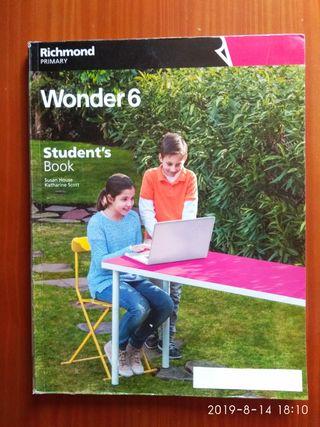 Wonder 6 Student's book. Richmond. 9788466817998