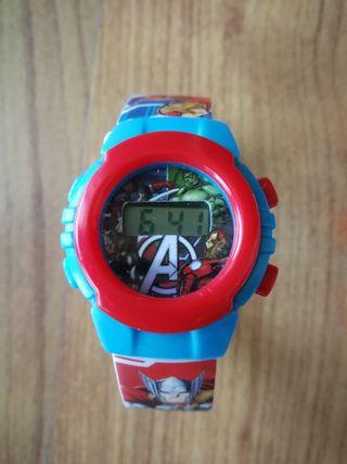 Reloj digital niño Avengers