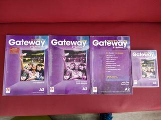 Gateway A2. Libros Inglés en buen estado