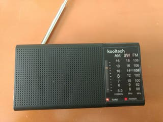 Radio portátil 3 bandas Am,Fm,Sw