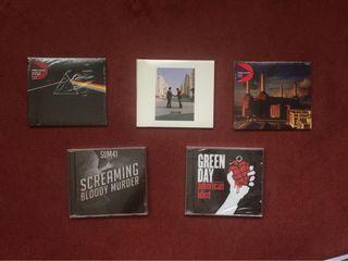 Disco Pink Floyd, Sum41, Green Day