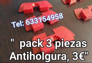 pack 3 piezas antiholgura Xiaomi m365