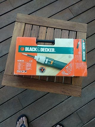 Destornillador eléctrico Black&Decker