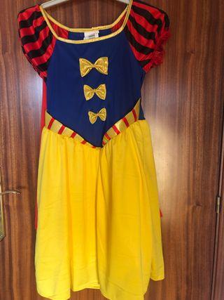 Disfraz de Blancanieves T3-4 años NUEVO