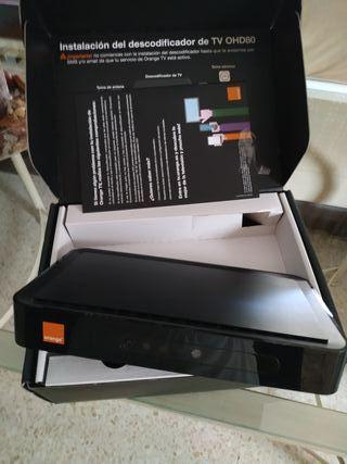 Decodificador tv orange.