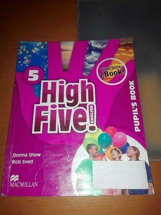 libros de ingles de quinto de primaria