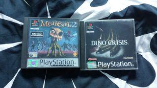 Medievil 2 / Dino crisis Ps1