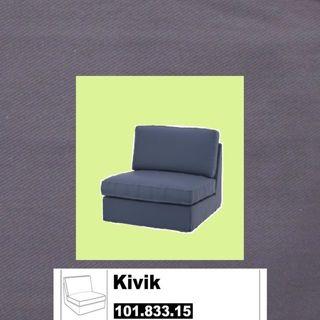 Regalo Funda KIVIK IKEA Ingebo azul