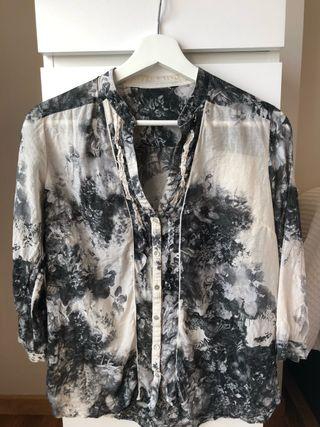 Camiseta mujer, manga larga, Talla S