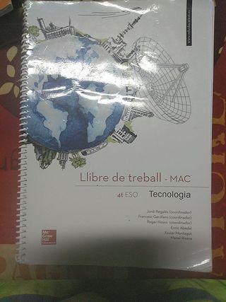 Llibre de Treball -MAC- 4t eso