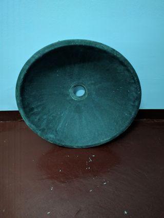 lavabo/pica cerámica gres lava volcánica